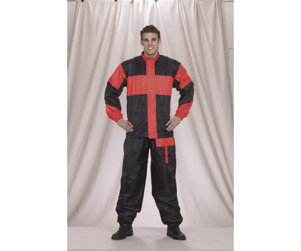 2-Pc Rain Suit Folds Up in Very Small Pack