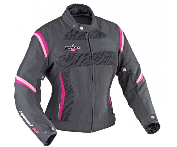 Ladies Textile & Mexh Jacket