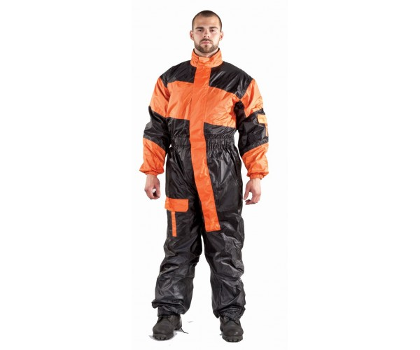 1-Pc Rain Suit Folds Up in Very Small Pack